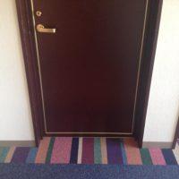 ホテル廊下リフォーム。