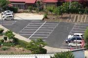 こちらが駐車場の全景です