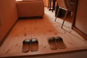 全室無垢の木のフローリングを使用